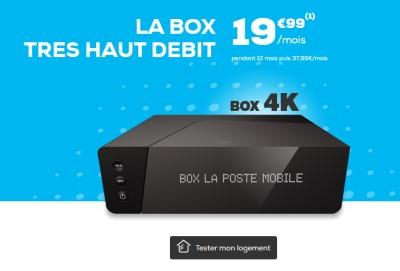 La BOX Internet La Poste THD en promo