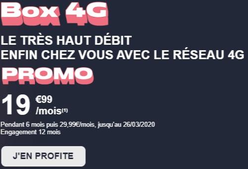 Box 4G NRJ promo 19,99€