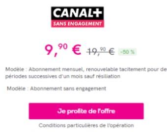 Canal + vente privee