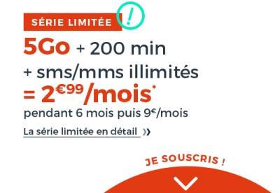 Forfait Cdiscount Mobile 5Go