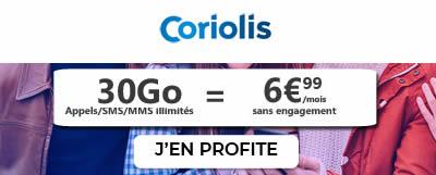 Coriolis 30Go à 6,99€