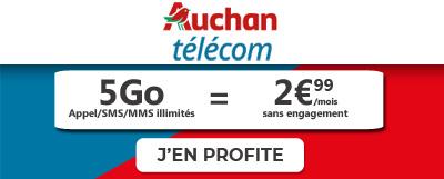 5go en promo chez auchan telecom