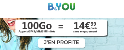 forfait bouygues 100Go