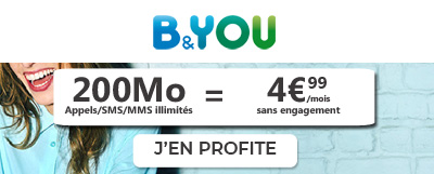 Forfait Bouygues 200Mo