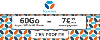 promo bouygues 60Go