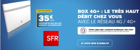Souscrire à la box 4G de SFR