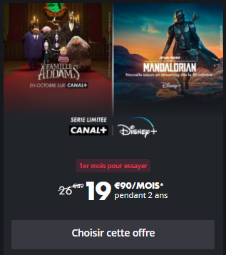 promo canal+ et disney+
