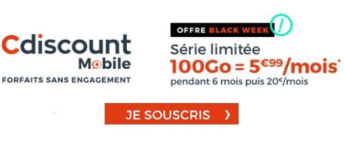 Forfait black week cdiscount mobile
