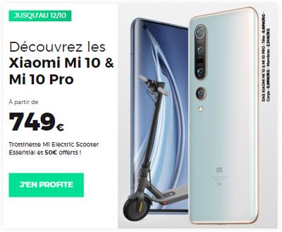 Promo Xiaomi mi 10