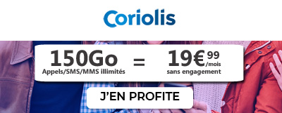 Forfait 5G Coriolis