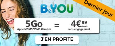 Dernier jour promo B&You