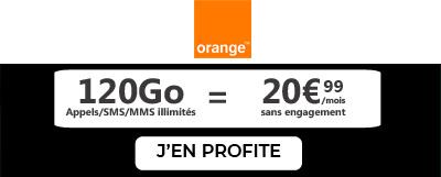 forfait 5G en promo chez Orange