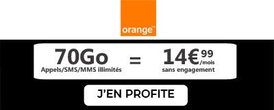 Forfait Orange 70Go