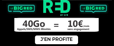 Forfait BIG RED 40Go