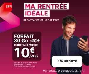 Forfait 80Go SFR BOX