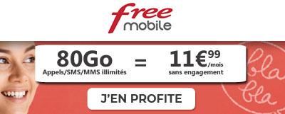 forfait free en promo