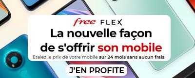 Profitez de l'offre Free Flex
