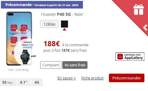 Huawei P40 Free