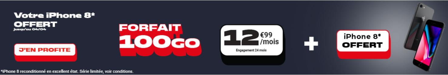 iphone 8 offert nrj mobile 100go