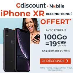 iPhone Xr offert chez Cdiscount
