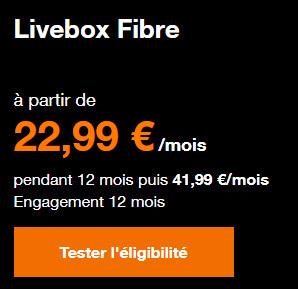Livebox fibre