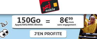150 go en promo chez nrj mobile
