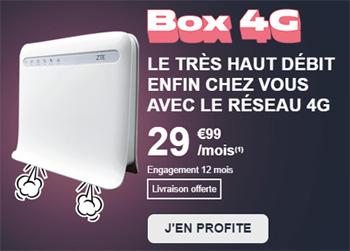 BOX 4G très haut debit