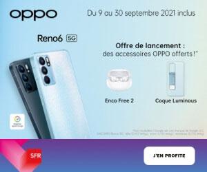 Oppo Reno6 lancement SFR