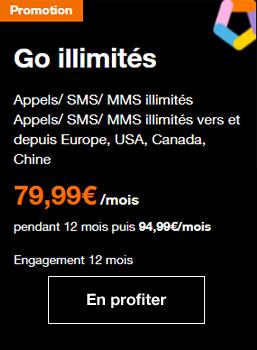 Orange et le forfait 5G en illimité