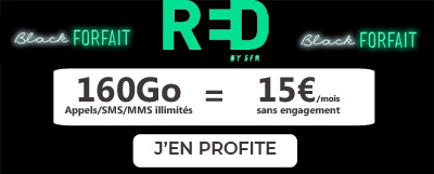 forfait red black friday
