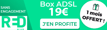 RED Box Internet à 19€ par mois