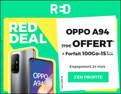 RED DEAL Oppo A94 5G