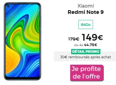 Xiaomi REDMI Note 9 promo