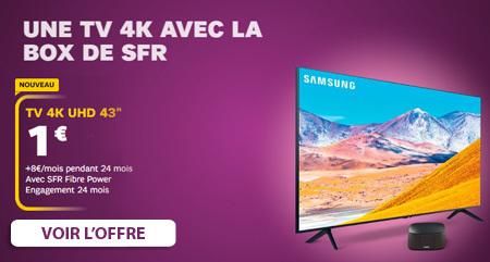 TV a 1 euro chez SFR Box
