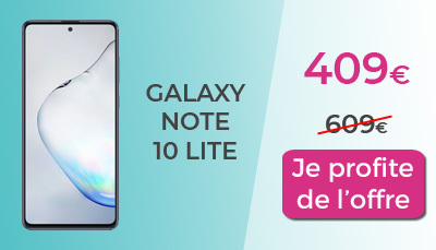 Galaxy Note 10 Lite RED by SFR