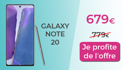 Galaxy Note 20 RED by SFR