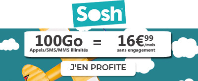 Forfait 100Go Sosh