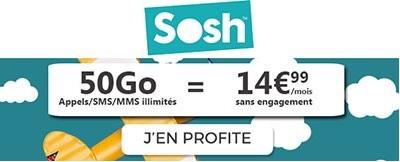 SOSH 50Go promo