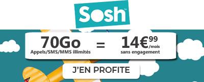forfait Sosh Mobile