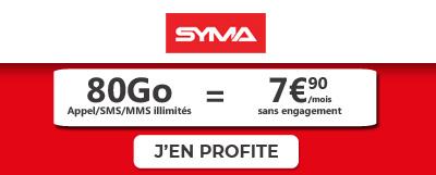 promo forfait mobile syma