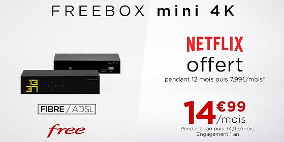 offre freebox/netflix