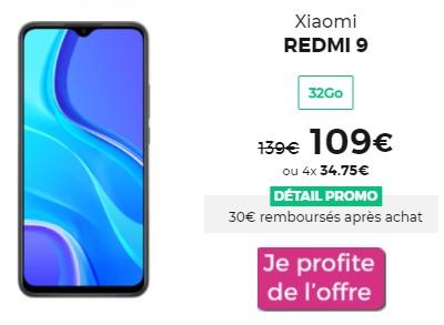 Xiaomi REDMI 9 promo RED