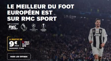 Bouquet RMC sport SFR