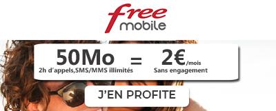 Free 2€/mois