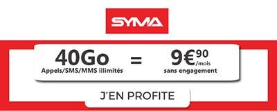 Forfait 50Go Syma Mobile