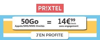 Forfait Prixtel 50Go