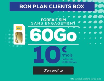 Forfait 60Go la poste mobile