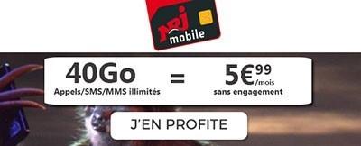 Forrfait 40Go NRJ Mobile