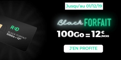 Forfait RED 100Go