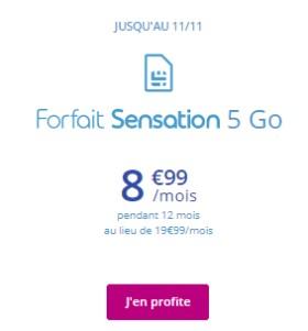 Forfait Sensation 5Go BT